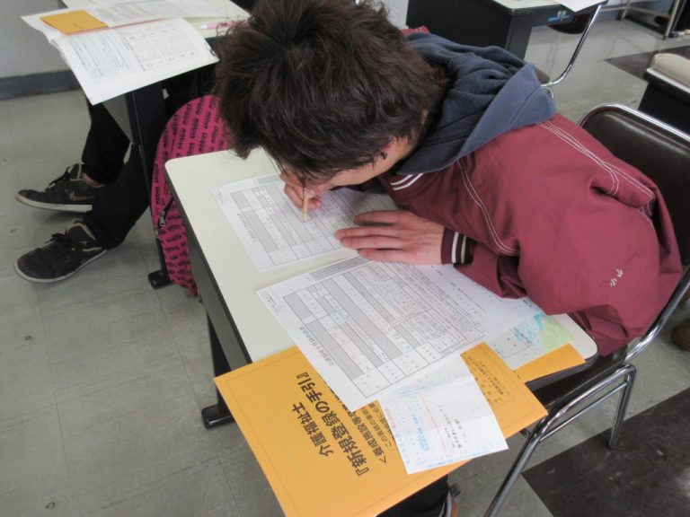 ဂျပန်စာအရည်အချင်းလက်မှတ်အတုလုပ်ခဲ့တဲ့ ကျောင်းသားများ